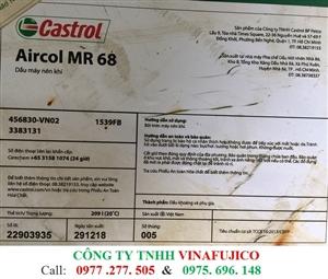 Dầu máy nén khí Castrol Aircol MR 68