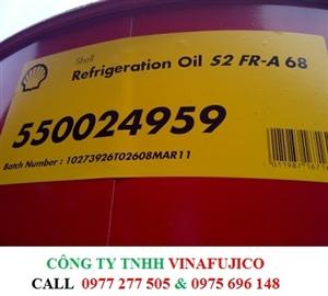 DẦU MÁY NÉN LẠNH SHELL REFRIGERATION Oil S2 FR-A 68