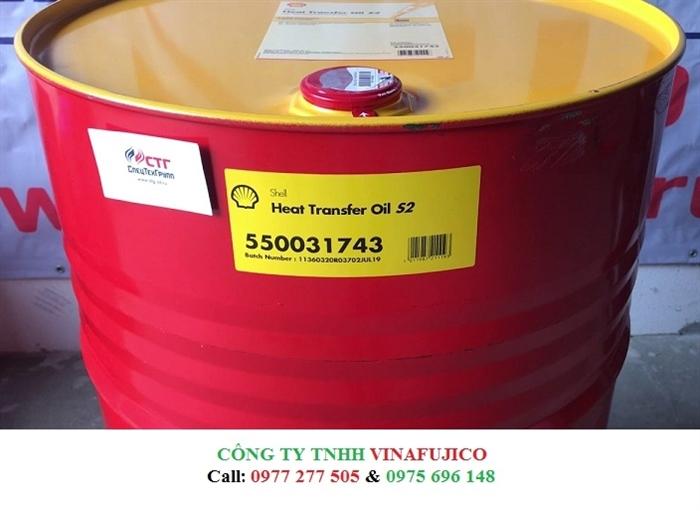 Dầu gia nhiệt bảo ôn Shell Heatransfer Oil S2